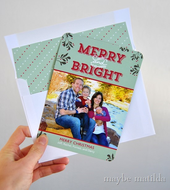 Love these Christmas cards from Tiny Prints!