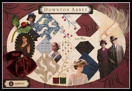Downton Mood Boards - Mary