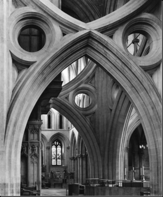 Central Arches, Wells Cathedral, 1980
