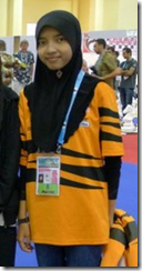 Nur Najiha bt Azman Hisham, Malaysia