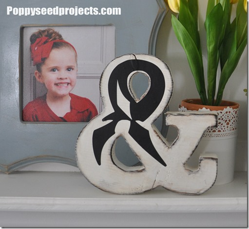Super Saturday Craft Idea Ampersand Sign2