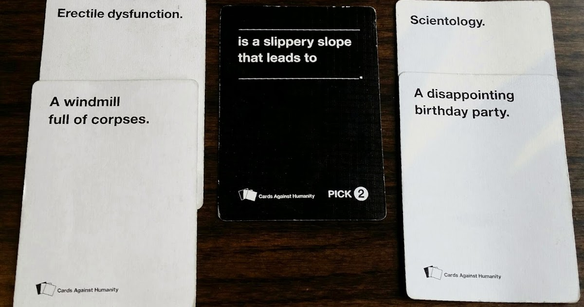 Guilty Pleasure Beerunch Cards Against Humanity