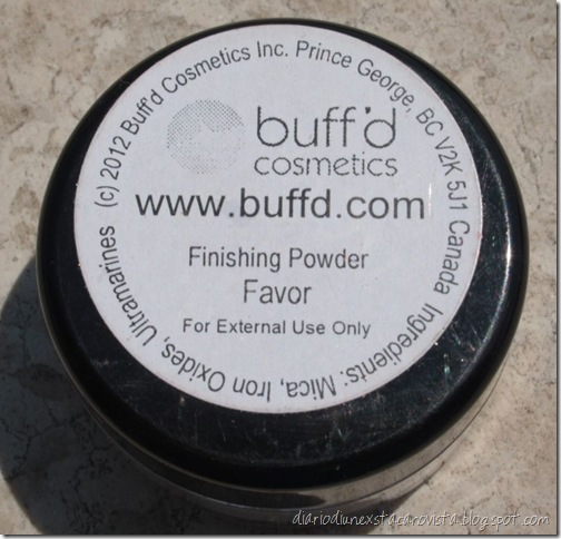 buffd finishing powder favor