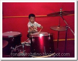 Violino Ridho Putra Kembali Berlatih Drum di JM 83 STUDIO (4)