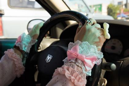 lolita al volante