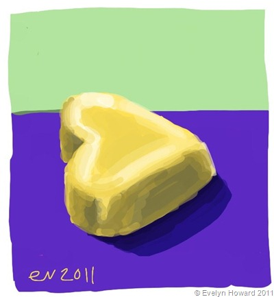 Irish Cream ipad painting © Evelyn Howard 2011