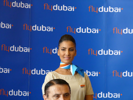 Aeroportul Otopeni: stewardeza Fly Dubai