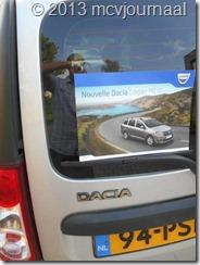 Frankrijk met de Dacia Logan MCV 01