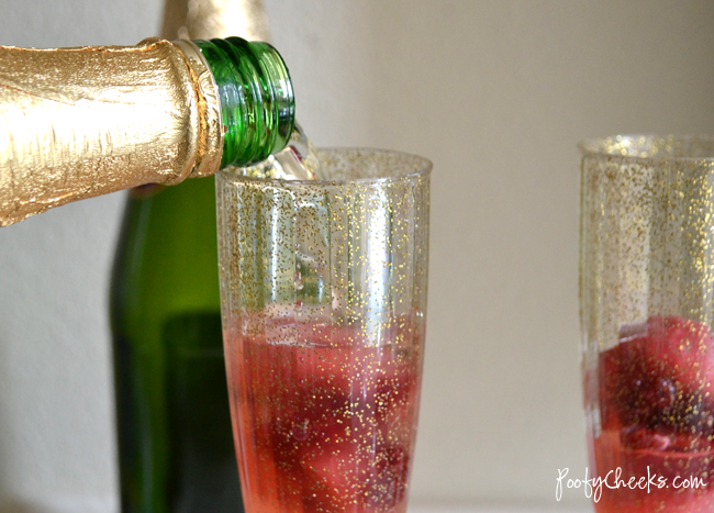Sparkling Raspberry Mocktail