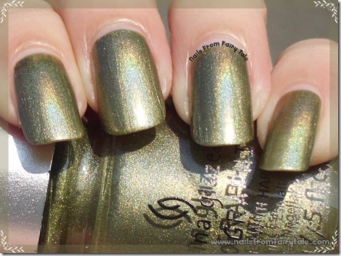 China Glaze Hologlam Collection – OMG a UFO