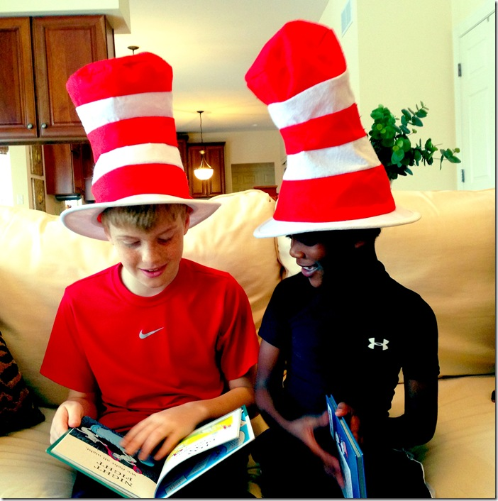 Dr. Seuss Day 2013
