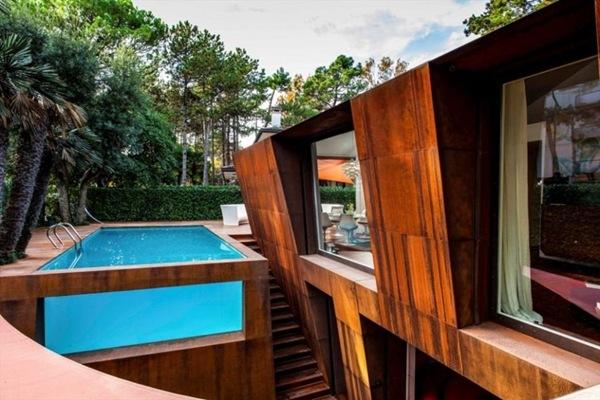 Villa al Mare por Lanfranco Pollini
