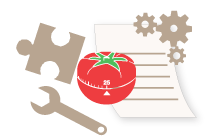 Pomodoro tools