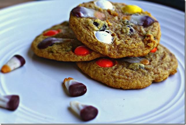 Pumpkin Candy Corn Cookies4