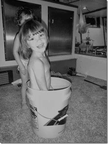 Capri in bucket