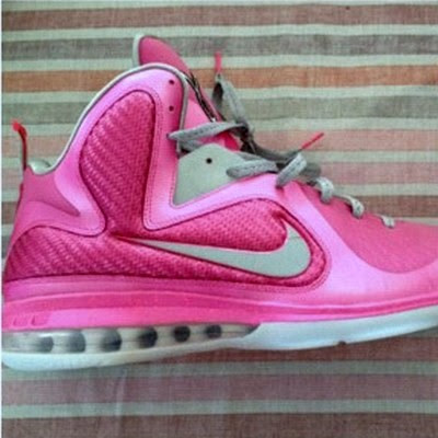 nike lebron 9 pe think pink 2 02 Another Look at Nike LeBron 9 Kay Yow / Think Pink PE