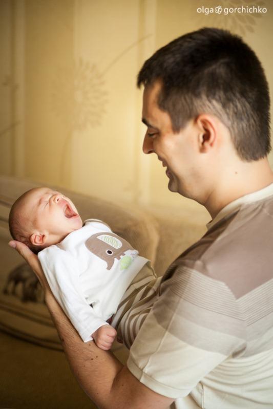 Фотографирование новорожденных. Лёшенька, 3 недели