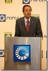 El vicepresidente ejecutivo de Relaciones Públicas y Comunicaciones del Popular, señor José Mármol,