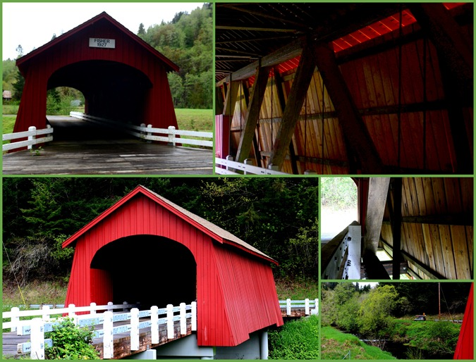 Fisher School Covered Bridge