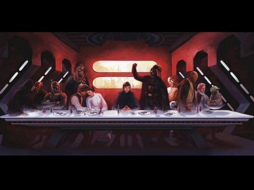 cool star wars photos christ last supper