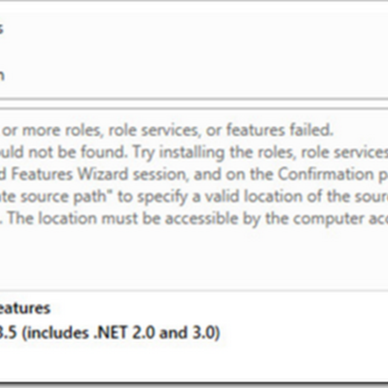 Problems installing .NET 3.5 on Windows 8 or Windows Server 2012 R2?  Like error: 0x800F0906? Check for an already in-place 3.5 Update...