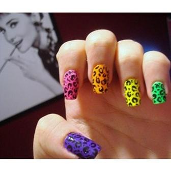unghii pictate-culori