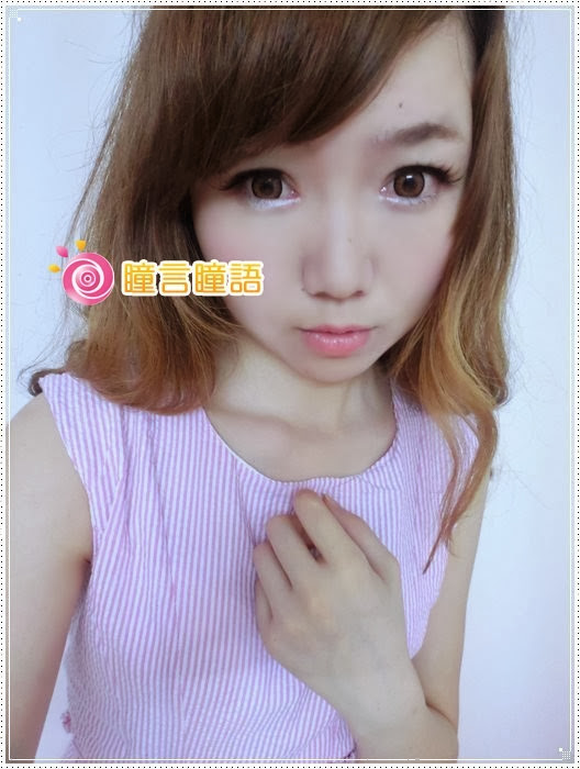 韓國GEO隱形眼鏡-冰漾甜心咖(廣瀨麻伊)10