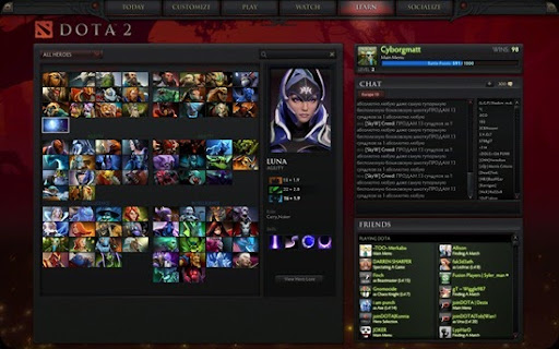 dota 2 for linux is now available on the main dota 2 client