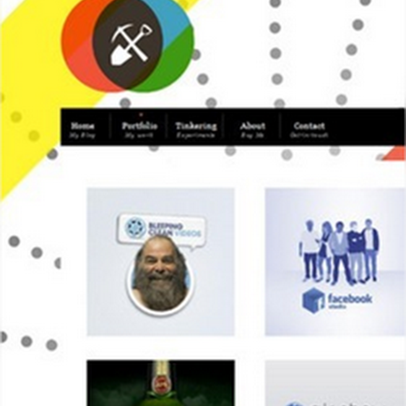 23 ejemplos de portafolios web creativos