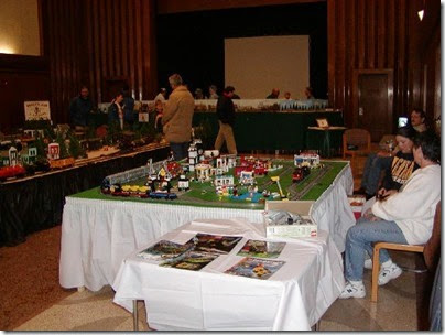 01 LEGO Layout at TrainTime 2003