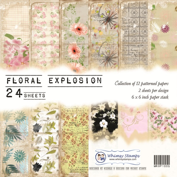 Floral Explosion Front Sheet