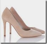 Karen Millen Signature Suede Court Shoe
