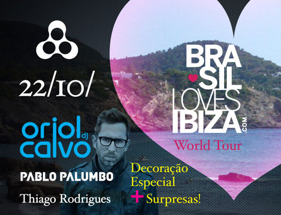 Brasil Loves Ibiza World Tour na Anzu Club em Itu