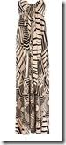 Oasis Stencil Print Maxi Dress
