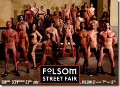 SF Fulsom Street Fair Ad for 9-23-12