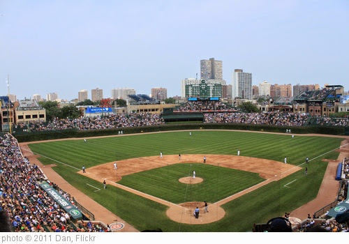 'Wrigley Field, Section 421' photo (c) 2011, Dan - license: https://creativecommons.org/licenses/by-nd/2.0/