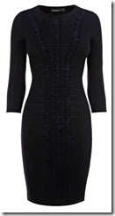 Karen Millen Pleat and Fold Knit Dress