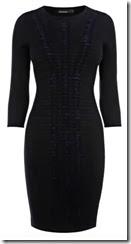 Karen Millen Pleat and Fold Knit Dress
