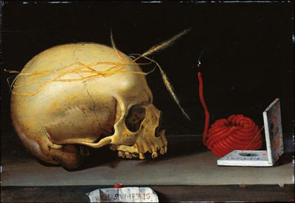 Maitre allemand, Vanité 1620