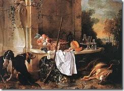 Oudry_Jean-Baptiste_-_Dead_Wolf_-_1721