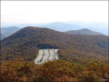 view from Brasstown Bald Mountain