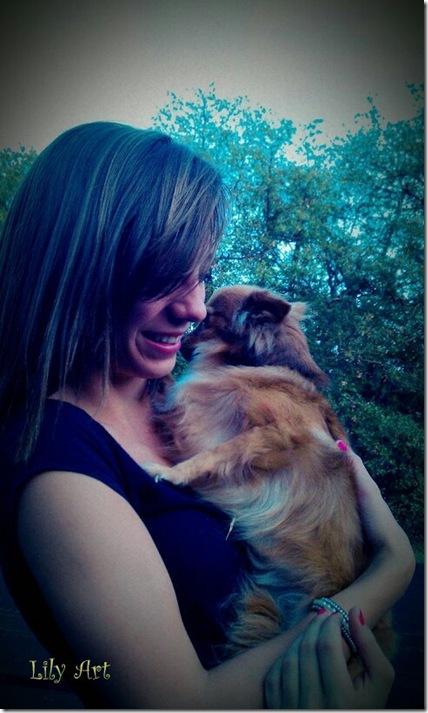 Lydia 10 31 2011 w doggie