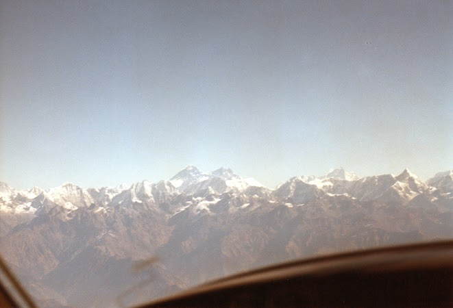 Imagini Nepal: in avion Buddha Air spre Everest