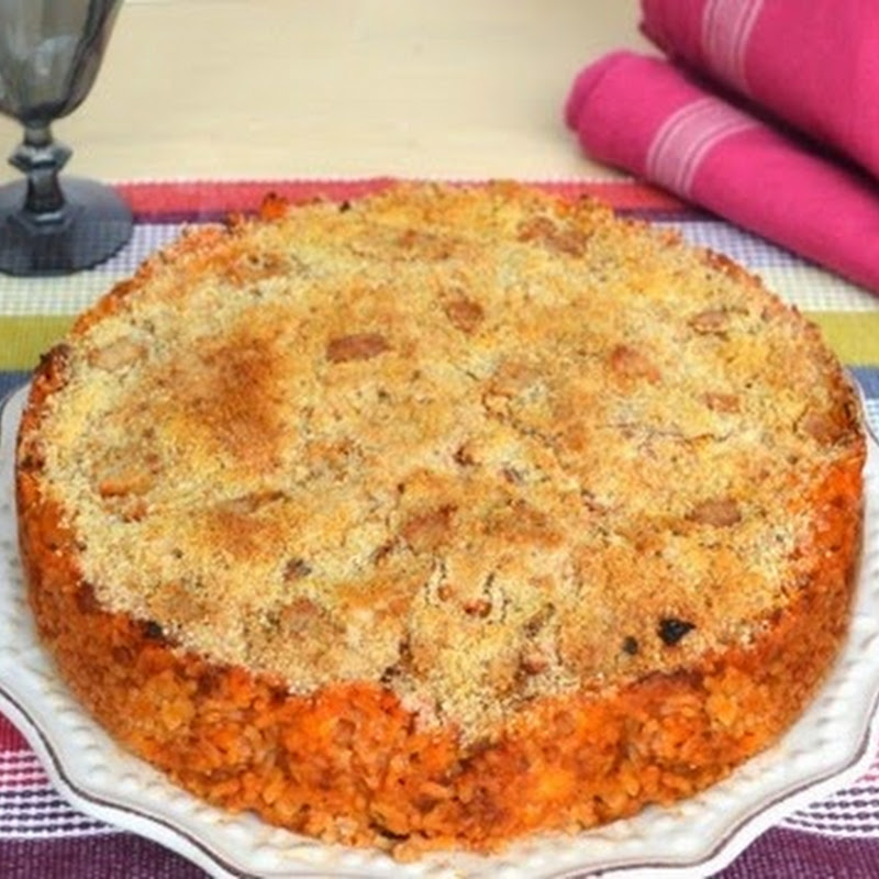 Αλμυρή πίτα με ρύζι