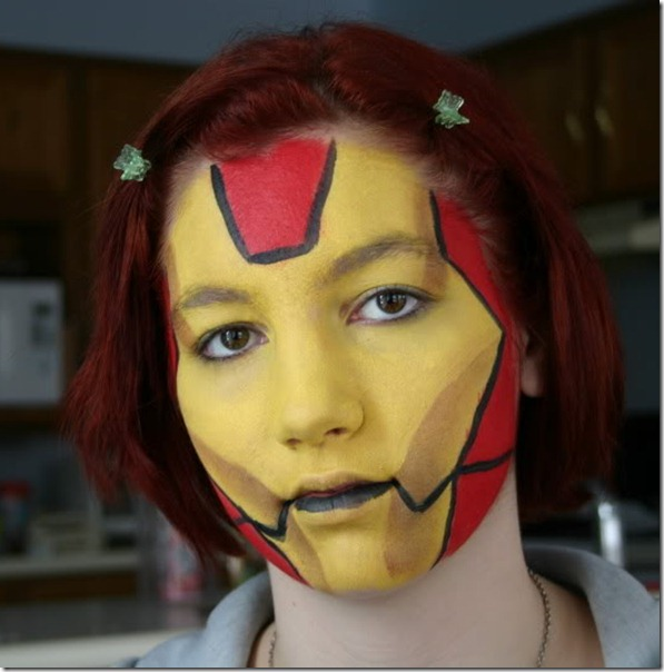 maquillaje de iron man (18)