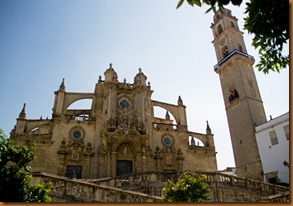 Jerez cathedral front