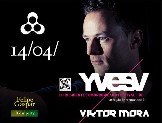 DJ Yves V na Anzu Club em Itu