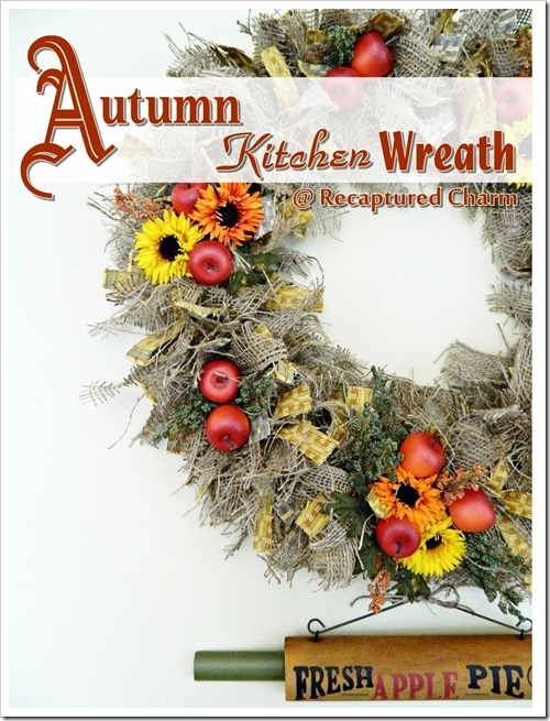 Autumn Kitchen Wreath 056b