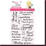 Pink Stamper Fancy Phrases