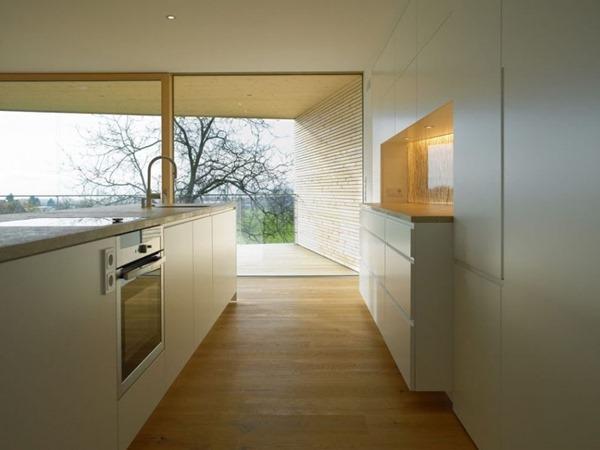 cocina-con-isla-Casa-K³-arquitectos-Juri-Troy